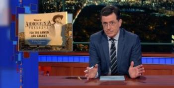Stephen Colbert Deploys The Oreo Hotline For The Bundy Boys