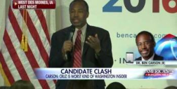 Ben Carson: Ted Cruz Used 'Dirty Tricks' To Hurt His Campaign: UPDATED