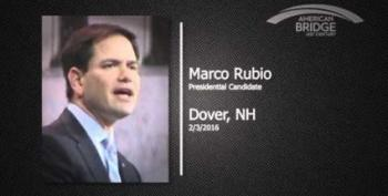 Marco Rubio Shows His Stupidity By Slamming Something Obama Never Said
