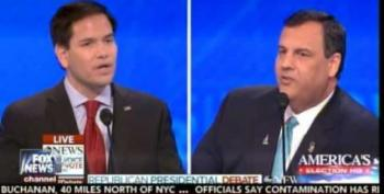 Chris Christie's Devastating Rubio Attack Was Basically Scott Walker's ISIS Gaffe