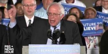 Bernie Sanders' New Hampshire Victory Speech: 'Tonight We Served Notice'