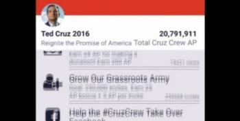 Ted Cruz Has A Really Creepy Mobile App