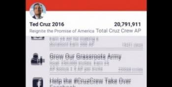 Ted Cruz Has A Really Creepy Mobile App
