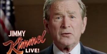 Open Thread - Dubya's Pro-Jeb! Ad From Jimmy Kimmel