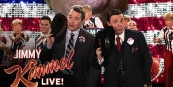 Jimmy Kimmel's Brilliant 'Producers' Parody:  'Trumped'