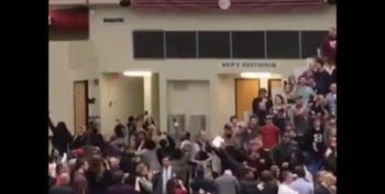 Secret Service Choke-Slams Reporter At Trump Rally