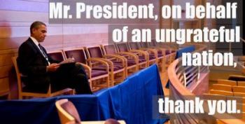 Open Thread - Thanks, Obama.