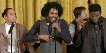 Broadway's 'Hamilton' At The White House