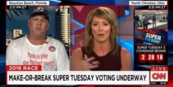 Trump Voter Launches Bizarre Birther Rant Against Obama, Cruz And Rubio