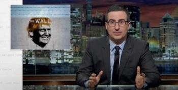 John Oliver Tears Down Trump's 'Stupid F*cking Wall'
