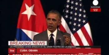 Midday Open Thread:  Obama Addresses Belgium Attacks Before Cuba Speech