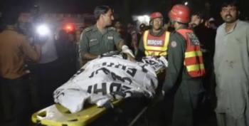 Horrific: Suicide Bomber In Lahore, Pakistan Kills 69 And Injures 300, Mainly Women And Children