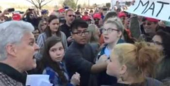 Trump Supporters Cheer As Teen Protestor Groped, Pepper Sprayed At WI Rally