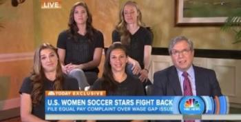 USWMT Files Complaint For Equal Pay With US Soccer Federation