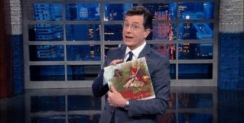 Stephen Colbert Mocks The NRA's Fractured Fairy Tales