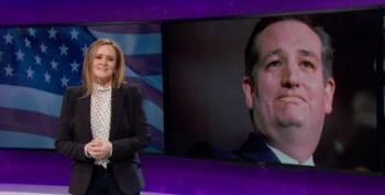 Staycation?  Samantha Bee Takes Week Off To Abort Ted Cruz