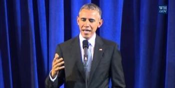 Open Thread - Obama Crashes The Watch Party