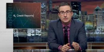 John Oliver Takes On Corrupt Credit Report-Based Hiring