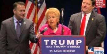 Phyllis Schlafly's Eagle Forum Board Plots Coup After Trump Endorsement (UPDATED)