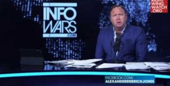 Right Wing Radio Lunatics Eat Their Own: Glenn Beck And Alex Jones Edition