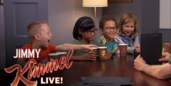 Kids Goof On Donald Trump In Jimmy Kimmel Live Skit