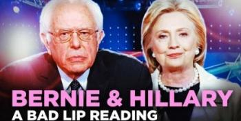 Bad Lip Reading Does Bernie And Hillary!