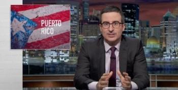 'Hamilton' Star Helps John Oliver Explain Puerto Rico's Crippling Debt