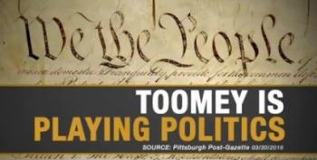 Senator Pat Toomey Targeted By Ads Over His SCOTUS Blockade