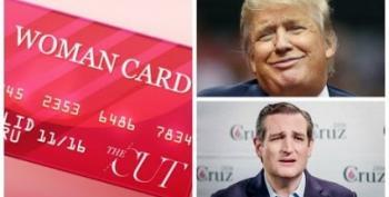 Donald Sweeps, Ted Cruz Weeps