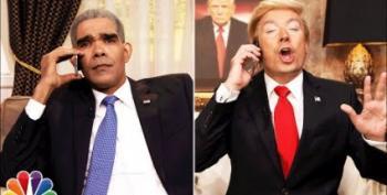 Open Thread:  Jimmy Fallon's Drumpf Calls Obama