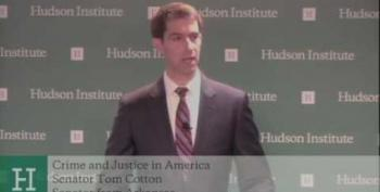 'Tehran Tom' Cotton Says We Don't Toss Enough Americans In Jail