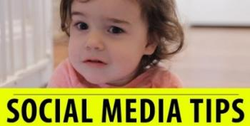 Open Thread - Important Social Media Tips...From A 2 Year Old?