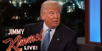 Kimmel Skewers Trump On Late Night TV