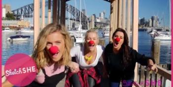Fun Video By SketchShe For RedNoseDay