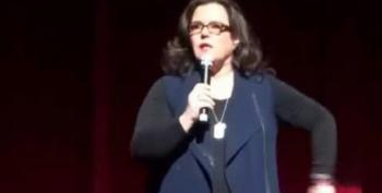 Rosie O'Donnell Calls Trump  A 'S**t Stain'