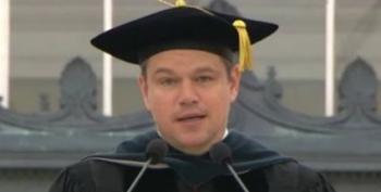 Open Thread - Matt Damon's Commencement Speech At M.I.T.