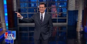 Colbert Suggests The Perfect Judge For Donald Trump