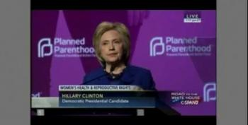 Whoa!  Hillary Clinton Clobbers GOP's War On Women At Planned Parenthood