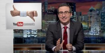 Uh Oh, John Oliver Reads YouTube Comments Out Loud
