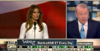 Fox's Varney Complains 'It's A Disgrace' For Media To Cover Melania Trump's Plagiarism