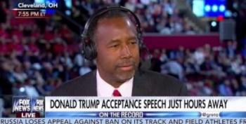 Ben Carson: Trump's Kids Grew Up At A Disadvantage Because They're Rich
