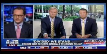 Watch Fox News Hosts Try To Sell Donald Trump To A Republican Defector
