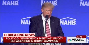 Trouble In Paradise: Trump Takes A Meeting With The RNC