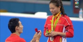 Open Thread - Silver Medal, And She Said Yes!