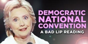 Open Thread - Bad Lip Reading The DNC