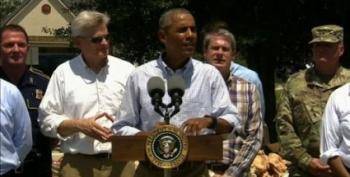 Obama Visits Louisiana, Reminds That Floods Aren't 'A Photo-Op Issue'