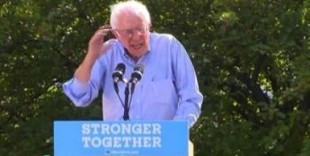 Sanders Campaigns For Clinton; Warren Influences HRC Staff