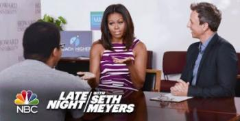 Open Thread - College Advice From Seth Meyers And Mrs. Obama