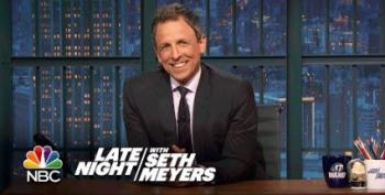 Open Thread - Funniest Line Ever On Late Night With Seth Meyers