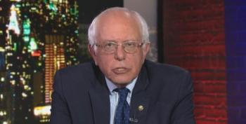 Bernie Sanders Warns Supporters That 'Now Is Not The Time For A Protest Vote'